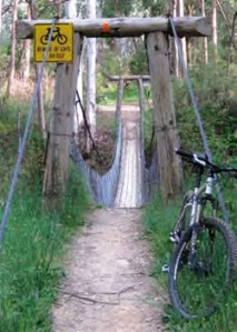 In Victoria's Bright, tracks have been successfully shared by bush walkers bike riders for as long as anyone can remember.