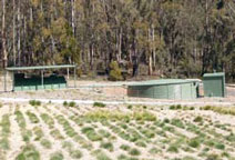 Sewerage treatment works and Hydro electricity plant at Yarrongobilly