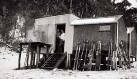Bendora Hut, circa 1940