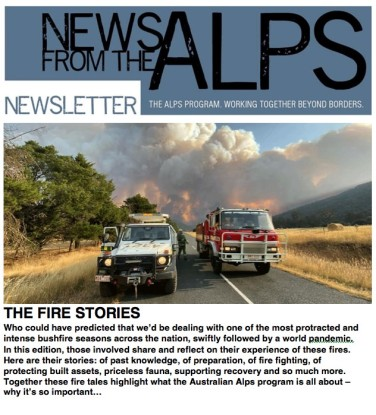 Alps #66 The Fire Stories